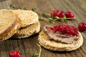 Turkey-pate-cranberry