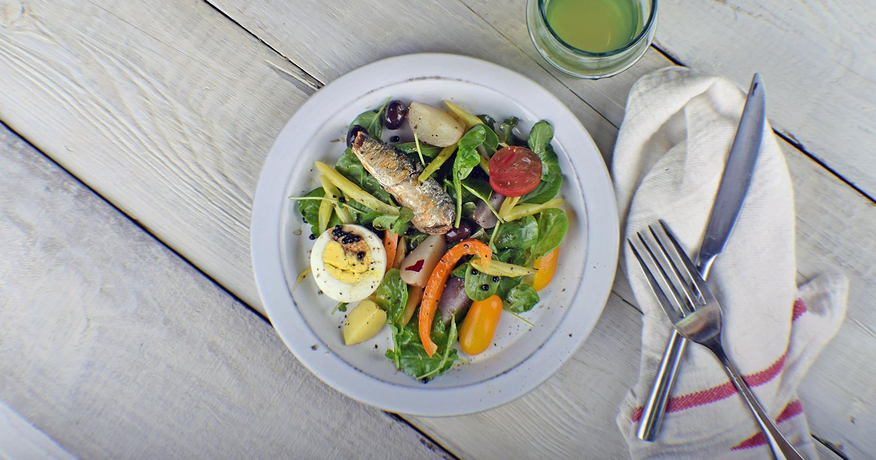 A Proper Niçoise Salad