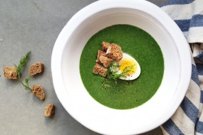 spinach dill soup