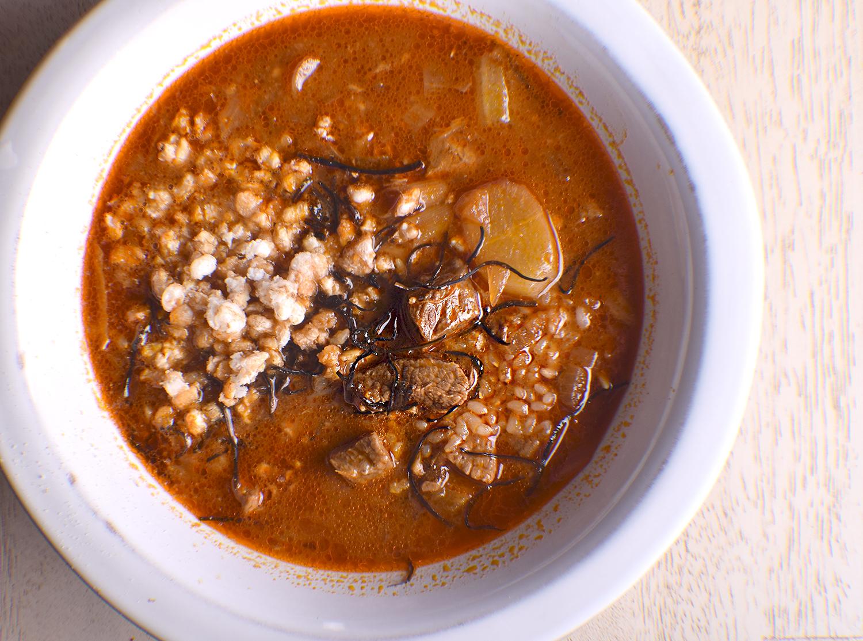 Korean Beef Stew (Yukgaejang-esk)