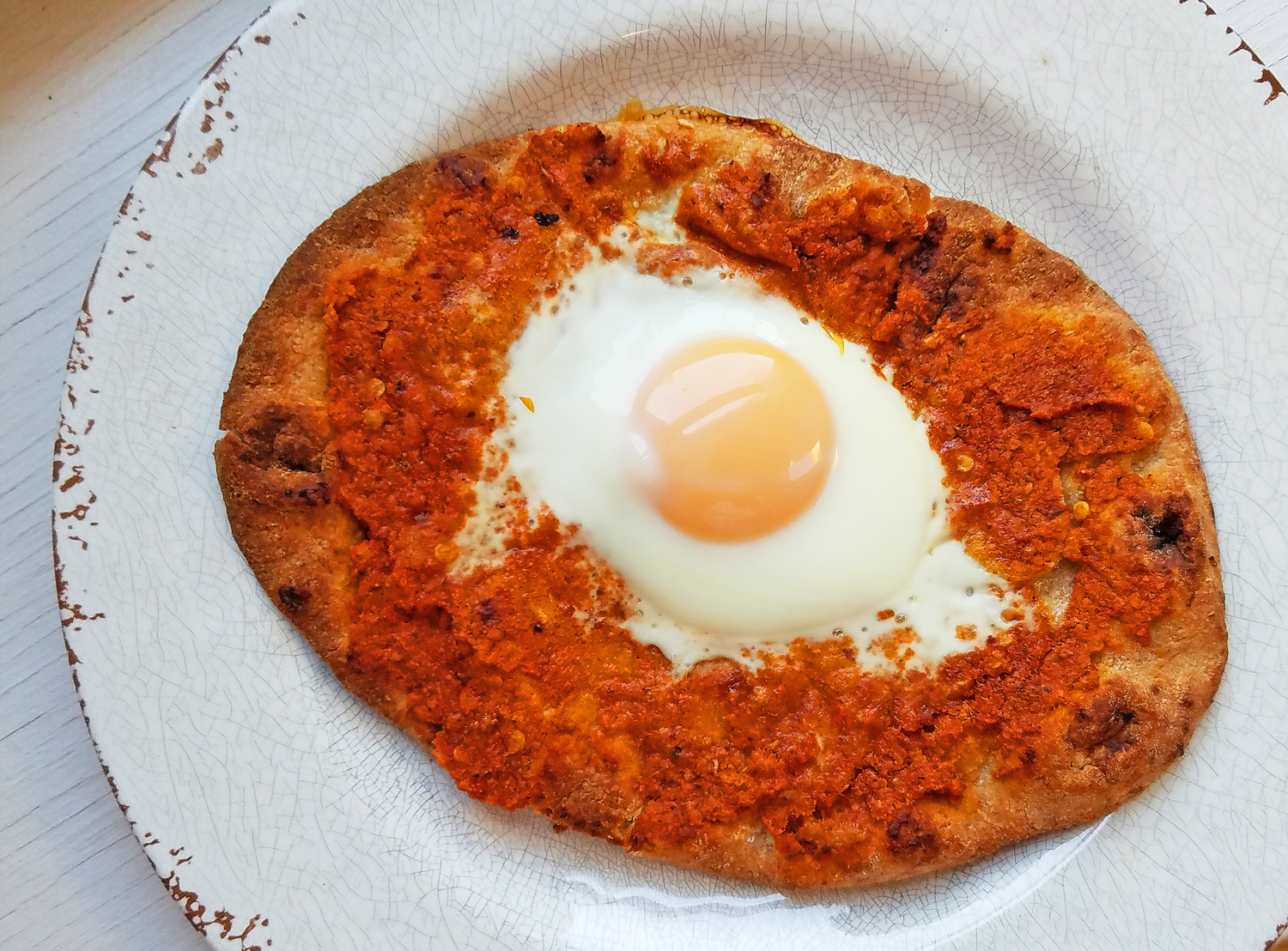 A Muhammara Breakfast